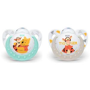 NUK Disney Winnie Puuh Trendline Beruhigungssauger, Gr. 1