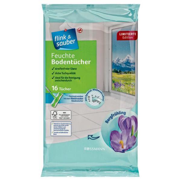flink & sauber feuchte Bodentücher