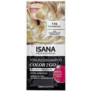 ISANA Professional Tönungsshampoo Color 2 Go 6.36 EUR/100 ml