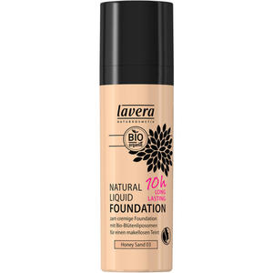 lavera NATURAL LIQUID FOUNDATION -Honey Sand 03- 28.30 EUR/100 ml