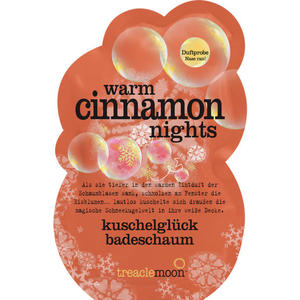 treaclemoon Kuschelglück Badeschaum warm cinnamon night 1.56 EUR/100 g