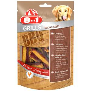 8in1 Grills Bacon Style 2.49 EUR/100 g (8 x 80.00g)