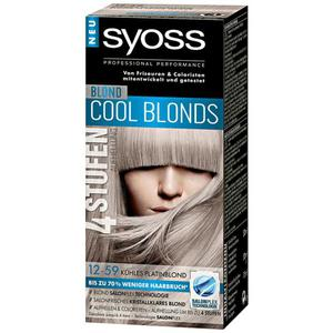 Syoss Professional Performance Cool Blonds 4 Stufen Aufhellung