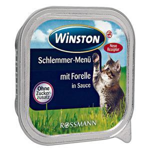 Winston Schlemmer-Menü mit Forelle in Sauce (32 x 100.00g)