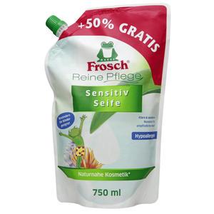 Frosch reine Pflege Sensitiv Seife Nachfüllpack 2.65 EUR/1 l