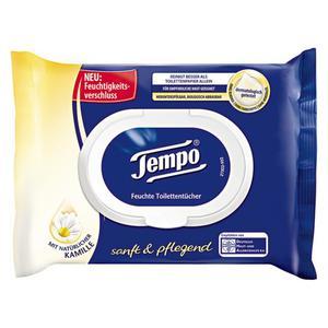 Tempo feuchte Toilettentücher sanft & pflegend