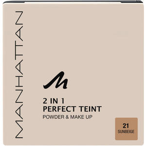 Manhattan Perfect Teint Powder & Make Up 21 Sunbeige