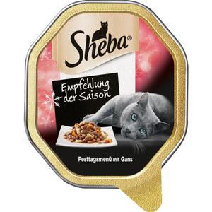 Sheba Empfehlung der Saison Festtagsmenü mit Gans 0.58 EUR/100 g (22 x 85.00g)