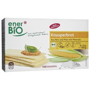 enerBiO Bio Knusperbrot 0.84 EUR/100 g