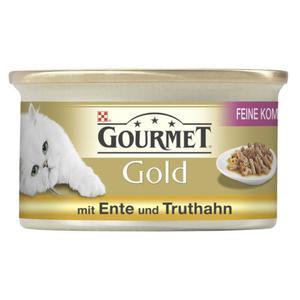 Gourmet Gold Feine Pastete mit Ente & Truthahn 0.58 EUR/100 g (12 x 85.00g)