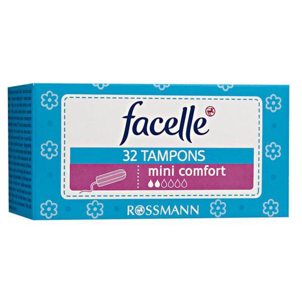 facelle Tampons mini comfort