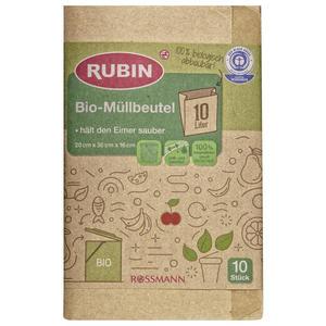 RUBIN Bio-Müllbeutel 10 l