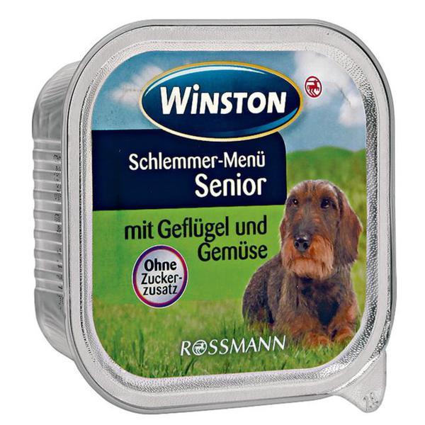 Winston Schlemmer-Menü Senior mit Geflügel & Gemüse 0.19 EUR/100 g (22 x 150.00g)