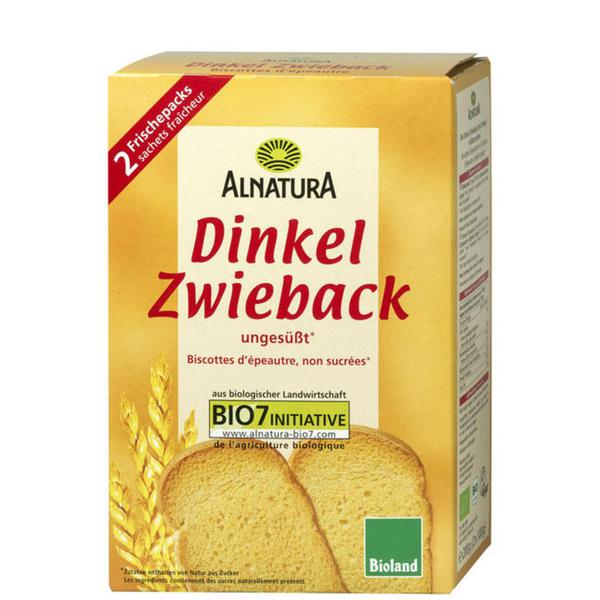 Alnatura Bio Dinkel-Zwieback 0.90 EUR/100 g