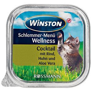 Winston Schlemmer-Menü Wellness Cocktail mit Rind, Huhn und Aloe Vera (32 x 100.00g)