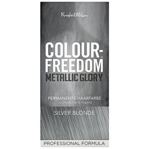 Colour-Freedom Metallic Glory permanente Haarfarbe Silver Blonde