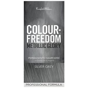 Colour-Freedom Metallic Glory permanente Haarfarbe Silver Grey