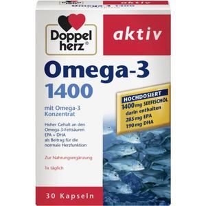 Doppelherz aktiv Omega-3 1400 7.58 EUR/100 g