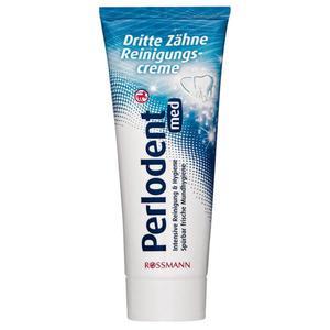 Perlodent med dritte Zähne Reinigungscreme 1.32 EUR/100 ml