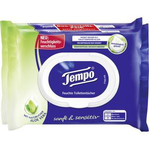 Tempo feuchte Toilettentücher sanft & sensitiv