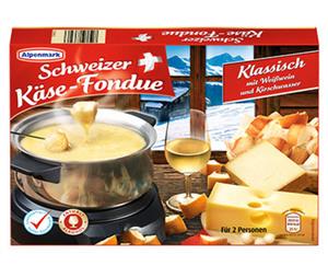 Alpenmark Schweizer Käse-Fondue