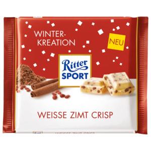 Ritter Sport Weiße Zimt Crisp 100g
