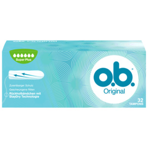 o.b. Original Super Plus 32 Stück