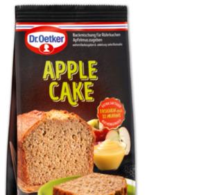 DR. OETKER Apple Cake