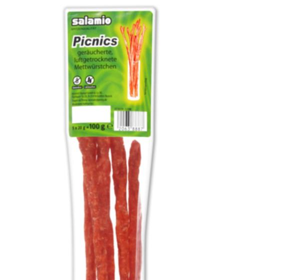 SALAMIO Picnics oder Picnics Chili