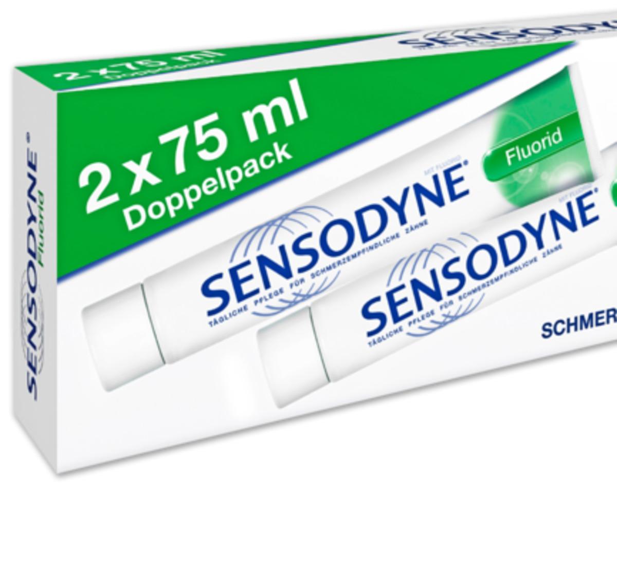 Bild 1 von SENSODYNE Zahncreme Fluorid