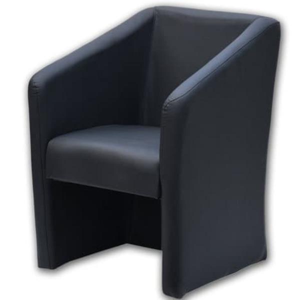 Sessel schwarz Kunstleder von Roller ansehen