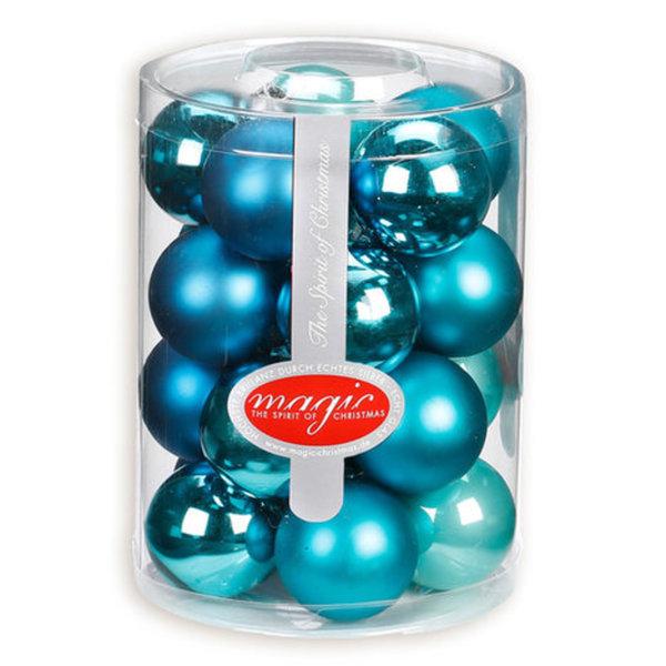 Weihnachtskugeln Blau.Weihnachtskugeln Blau Dazzling Club Mix 20 Stück