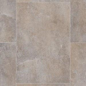 PVC-Bodenbelag ESSENTIALS - grau-beige - 4 Meter