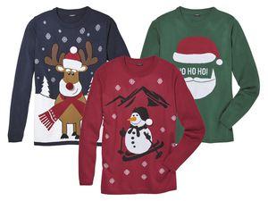 LIVERGY® Herren Weihnachtspullover