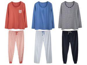 ESMARA® Lingerie Damen Schlafanzug