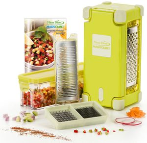 Genius® Nicer Dicer Magic Cube Gourmet, 9-teilig