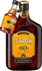 Stroh Original 80% 0,5 Liter + Jagertee Mini Gratis
