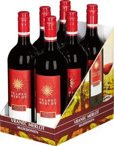 Vranec Merlot aus der Republik Mazedonien - Karton 6 Flaschen