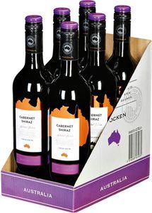 Cabernet Shiraz Australien trocken - Karton 6 Flaschen