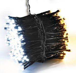 Dekor LED Galaxie Lichterkette, warmweiss/kaltweiss