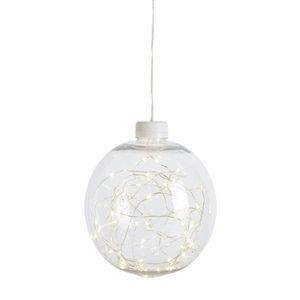 LED-Kugel mit Lichterdraht