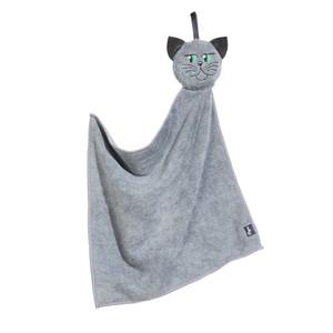 """Mikrofaser-Handtuch """"Katze"""""""