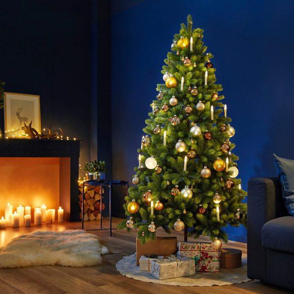 living art k nstlicher tannenbaum von aldi nord ansehen. Black Bedroom Furniture Sets. Home Design Ideas