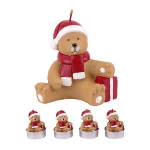 LIVING ART Weihnachtliche Figurenkerze