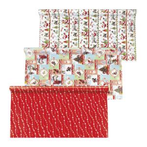 LIVING ART Weihnachtliches Geschenkpapier