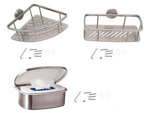 MIOMARE® Edelstahlkorb / Feuchttücherbox