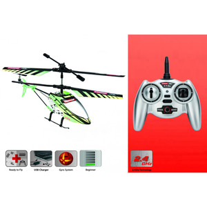 Carrera RC - Helikopter Green Chopper 2