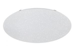 Dika LED Deckenleuchte mit Sternendekor weiss, D. 80 cm
