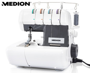 MEDION®  MD16600 Overlock Nähmaschine