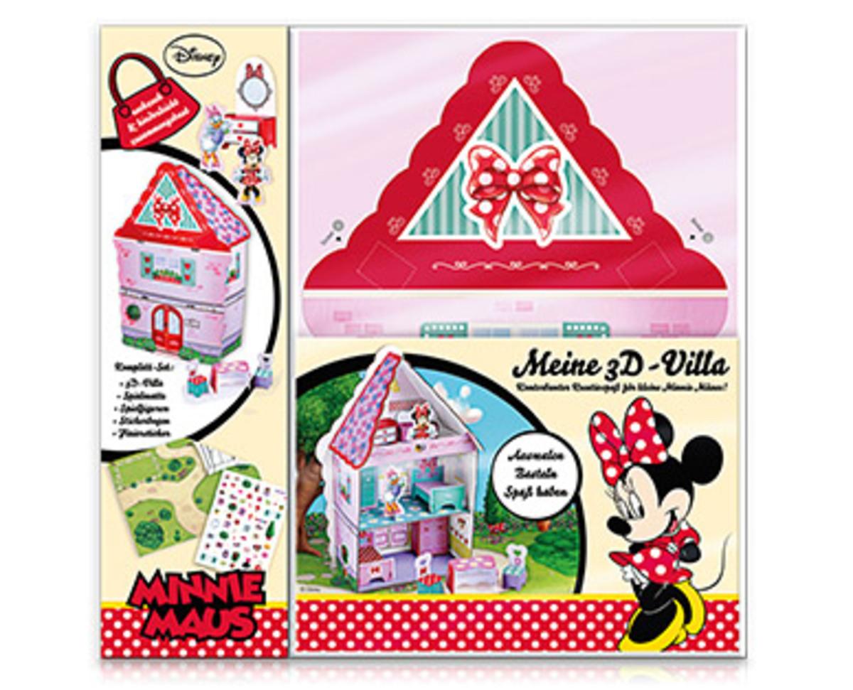 Bild 1 von 3D-Disney Mal- und Bastel-Set